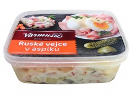 Varmuža Ruské vejce v aspiku