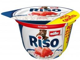 Müller Riso mléčná rýže jahoda + 15% Zdarma