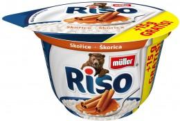 Müller Riso mléčná rýže skořice + 15% Zdarma