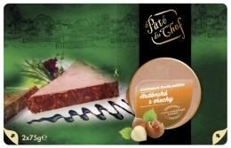 Pate du Chef Ardénská paštika s lískovými ořechy