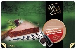 Pate du Chef paštika s kachními játry a portským vínem