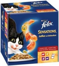 Felix Sensations Jellies masový výběr (24x100g) mix příchutí