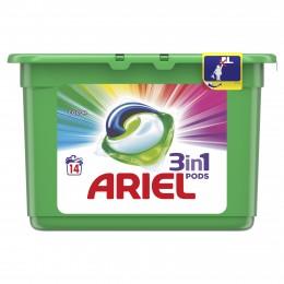 Ariel Color prací kapsle 14ks