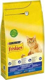 Friskies Sterile Cats s lososem a zeleninou