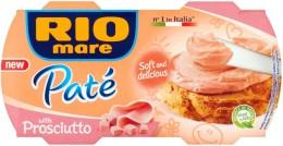 Rio Mare Paté šunkový krém 2x84g