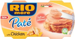 Rio Mare Paté kuřecí krém 2x84g