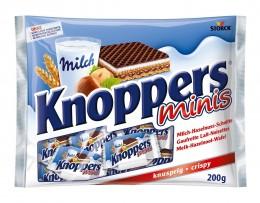 Knoppers minis vánoční oplatky