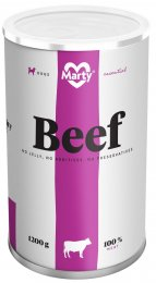 Marty konzerva pro psy ze 100% masa - hovězí