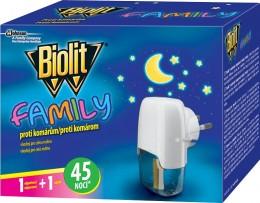 Biolit BIO Elektrický odpařovač tekutý Family 45 nocí
