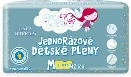 MonPeri dětské plenky M 5-8kg (velikost 3) 42ks