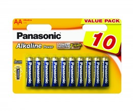 Panasonic Alkaline Power baterie AA 10ks