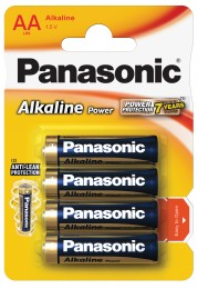 Panasonic Alkaline Power baterie AA 4ks