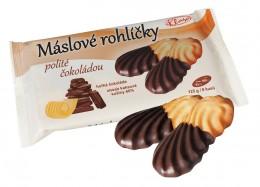 Klasa Máslové rohlíčky polité čokoládou