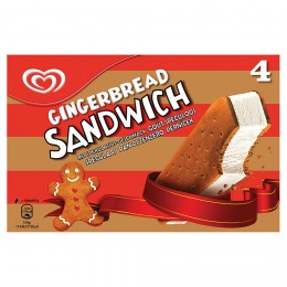 Algida Perníčkový sandwich zmrzlina pack 4x100ml,