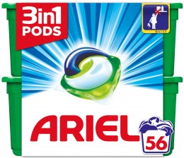 Ariel Touch of Lenor prací kapsle 56ks