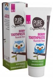 Pure Beginnings Zubní pasta malinová bez fluoridů