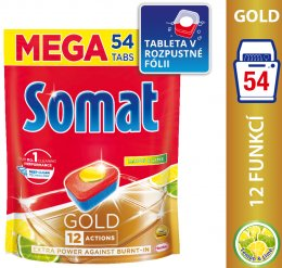 Somat Gold Lemon&Lime tablety do myčky 54ks