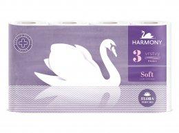 Harmony Soft parfemovaný toaletní papír, 3 vr., 8ks