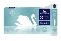 Harmony Exclusive Crystal toaletní papír 3 vrstvý parfemovaný 8ks