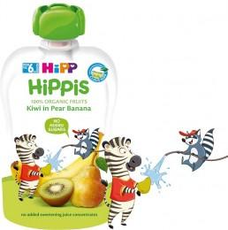 HiPP BIO 100% ovoce Hruška-Banán-Kiwi