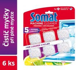Somat Čistič myčky nádobí při plném cyklu 6ks