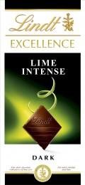 Lindt Excellence Dark lime hořká čokoláda