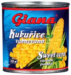 Giana Kukuřice vakuovaná