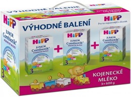 HiPP Combiotik 3 - trojpack 3x600g