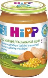 HiPP  BIO Zelenina ze zahrádky se sladkými bramborami