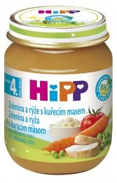 HiPP  BIO Zelenina a rýže s kuřecím masem