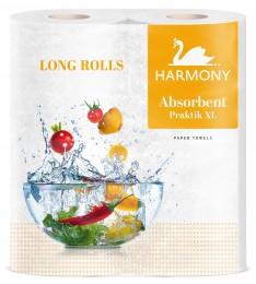 Harmony Kuchyňské utěrky Absorbent XL 2 vrstvé 2x21m