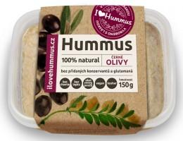 I love Hummus Hummus s černými olivami