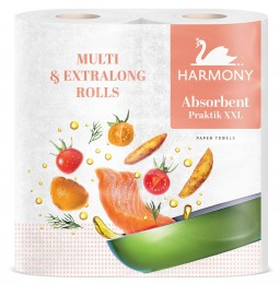 Harmony Kuchyňské utěrky Absorbent XXL 2 vrstvé 2x35m