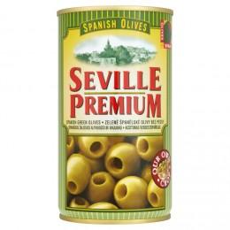 Seville Premium Olivy zelené bez pecky