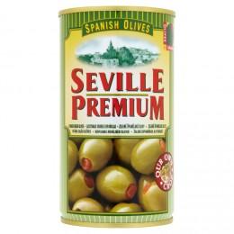 Seville Premium Olivy zelené s papričkou
