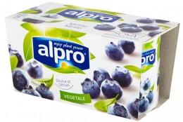 Alpro Fresh Sójová alternativa jogurtu borůvka, 2x125g