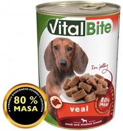 VitalBite telecí kousky v želé pro psy