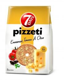 7Days Pizzetti Sýr Rajčata Olivy