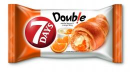 7Days Croissant double vanilka+pomeranč