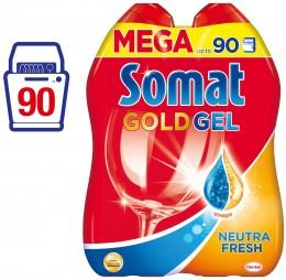 Somat Neutra Fresh Gold Gel do myčky (90 mytí)