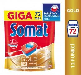 Somat Gold tablety do myčky 72ks