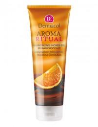 Dermacol Aroma Ritual - harmonizující sprchový gel belgická čokoláda