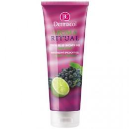 Dermacol Aroma Ritual - antistresový sprchový gel hrozny s limetkou