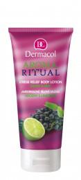 Dermacol Aroma Ritual - antistresové tělové mléko hrozny s limetkou