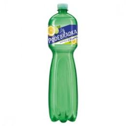Poděbradka Jemně perlivá s příchutí citrus mix