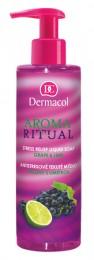 Dermacol Aroma Ritual antistresové tekuté mýdlo Hrozen s limetkou