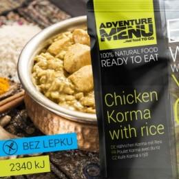 Adventure Menu Kuře Korma s rýží