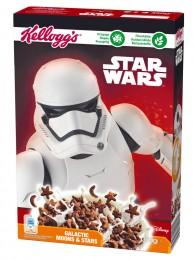 Kelloggs Starwars cereálie