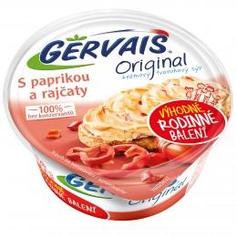 Gervais Original krémový tvarohový sýr s paprikou a rajčaty