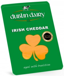 Dublin Dairy Irish cheddar red plátky